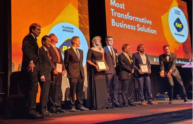 Most Transformative Business Solution Finalist @ 2018 WAITTA Incite Awards