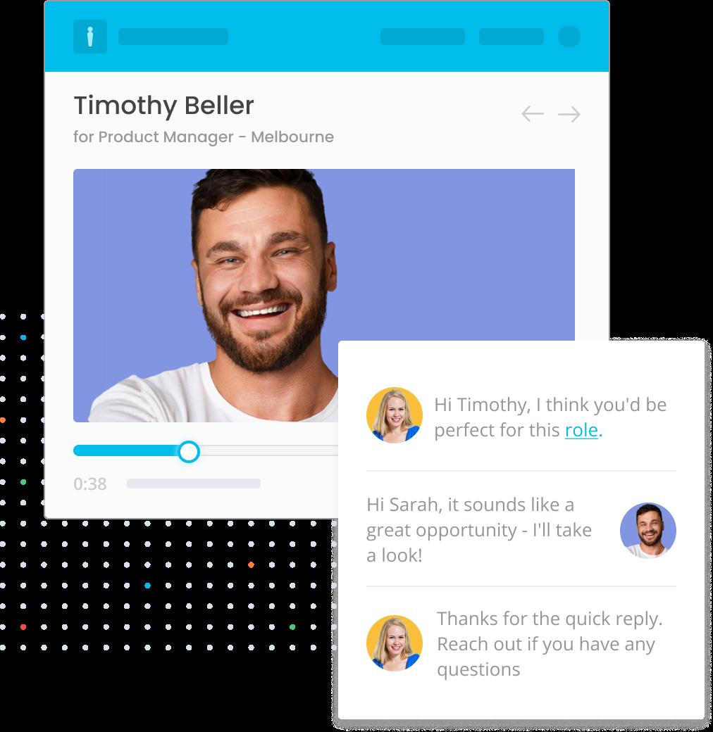 Introduce an intuitive talent experience platform.