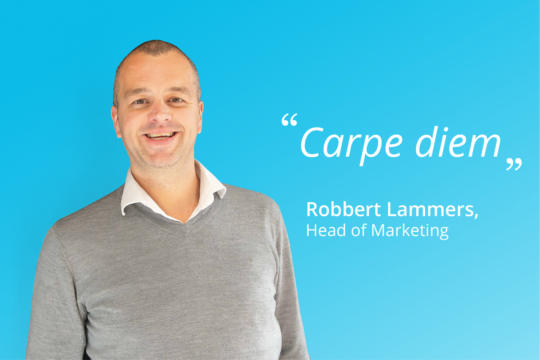 Meet LiveHire's Head of Marketing, Robbert Lammers.
