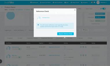In platform referencing checking