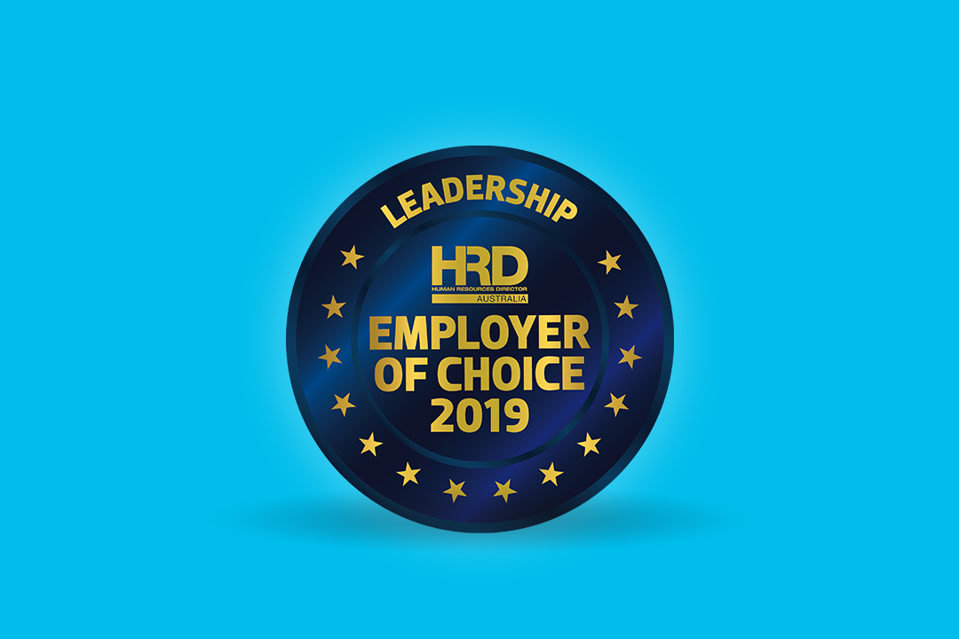 LiveHire awarded #HRD Employer of Choice 2019.