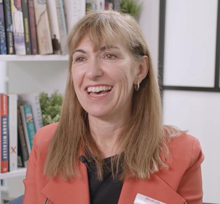 Sally Garner, Manager HR Services, Alfred Health