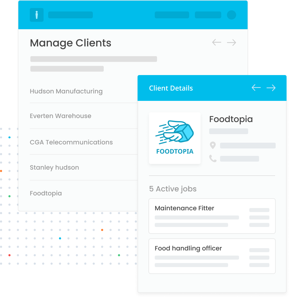 Centralise management of your recruitment agency partners.